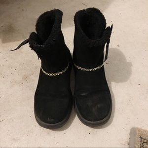 Uggs black size 7 used condition